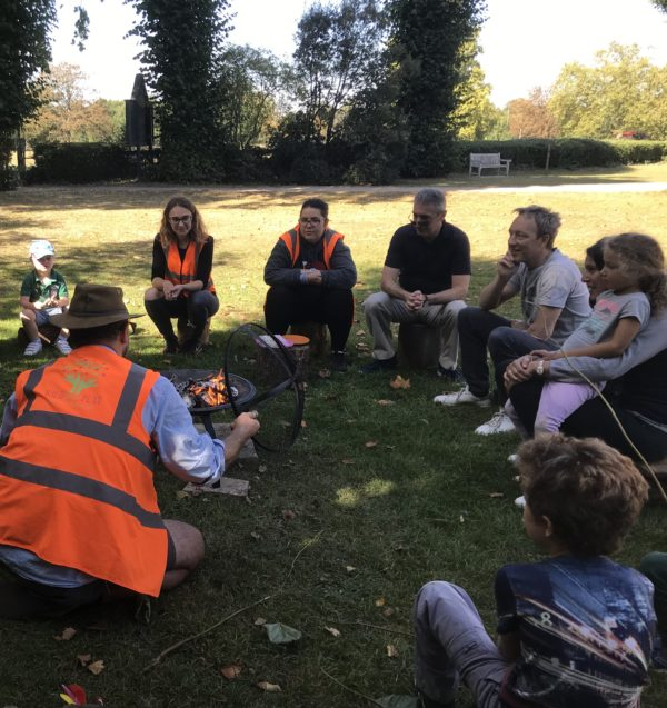 Families Fire Session with Children