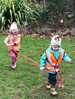 Benefits of cold weather play Wild About Play forest nursery and preschool Putney