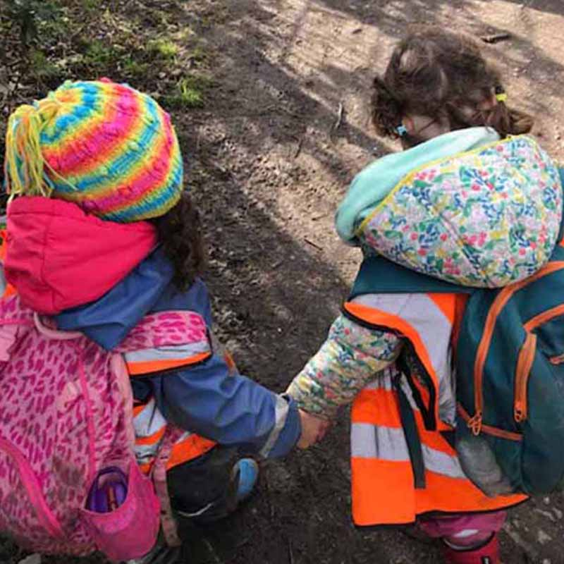 Curious learning and creativity EYFS at WIld About Play