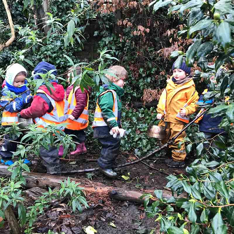 Building lifelong cognitive foundations for physical and mental health Wild About Play Forest School Nursery 2