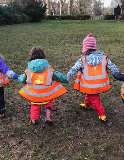 WIld About Play Outdoor Nursery Pre School Putney London 7