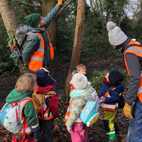 WIld About Play Outdoor Nursery Pre School Putney London 8
