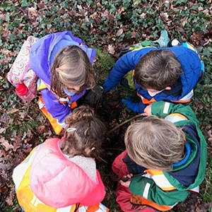 Wild About Play We are a full time outdoor education nursery for children aged 2-5 years old operating from 8am until 5.30pm.
