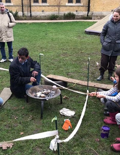 Wild Families with Wild About Play Family Fun in Putney Barbeque 2