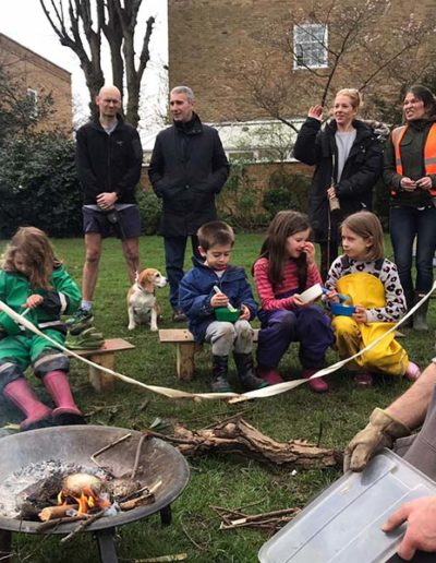 Wild Families with Wild About Play Family Fun in Putney Barbeque