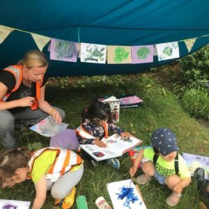 wild about play creativity fathers day celebrations paint with nature