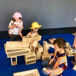 Children Imaginative Plat Wild about Play Outdoor Nursery Forest School Putney