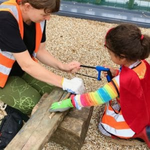 Tool Work Safety Wild about Play Outdoor Nursery Forest School Putney